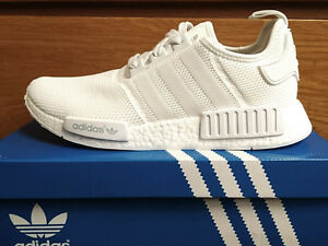 nmd triple white size 7.5 DS