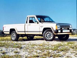 Looking for a Jeep Comanche MJ Pickup Truck 1987 - 1991 Long box