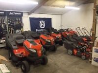 Husqvarna TC 38 Ride on Lawnmower mower