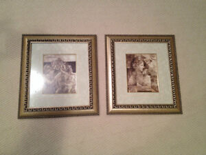 Set of 2 Professionally Framed Pictures