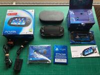 PS Vita / 3.60 / 64GB / Pristine Condition with Extras