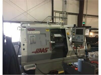 2000 Haas Sl-30 Cnc Lathe 30hp 3400 Rpm 12 Station Turret Under Power Running