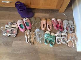 Kids size 10/11 shoes - Vans/Converse/Next