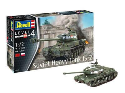 Revell 1:72 03269 Schwerer Sowjetischer Panzer IS-2 NEU OVP