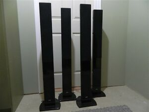 4 Quest Tower Speakers - Quest Mystique 6.1