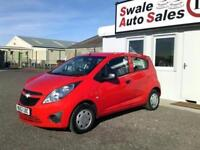 2012 CHEVROLET SPARK + 1L ONLY 27,172 MILES, FULL SERVICE HISTORY, £30 TAX