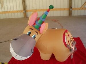 For Rent -4' Airblown Inflatable Pin The Tail On The Donkey Game Kitchener / Waterloo Kitchener Area image 3