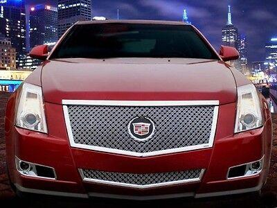 2008-2013 Cadillac CTS 2pc Classics Heavy Mesh Grille - E&G 1007-0104-08