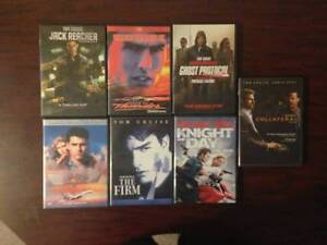 Tom Cruise Movie Collection ( 7 DvDs )