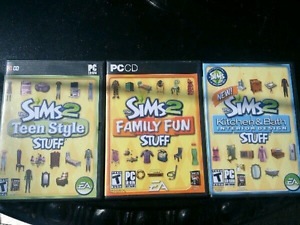 Sims 2 add-ons and PC games