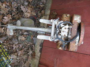 ANTIQUE OUTBOARD MOTOR