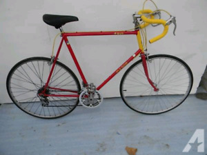 Looking for vintage road bike - size XL