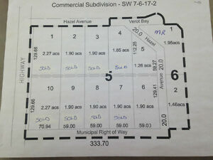 Commerical Subdivision - Lots for Sale