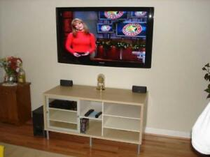 Tv wall mount installation $50 Cabling  furniture assembly