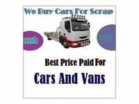 Cash For Scrap Car Luton Bedfordshire, Hemel Hempstead, St Albans