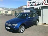 2007 BMW X3 SE AUTOMATIC 3L 4X4 ONLY 89,947 MILES, FULL SERVICE HISTORY