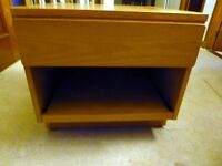 Beaver and Tapley TV/ Hi Fi units in teak