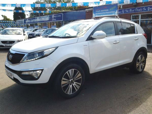 Kia Sportage 2.0CRDi KX-3 [Sat Nav] (FULL LEATHER+SAT NAV+GLASS ROOF)