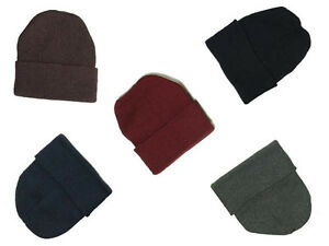 Bulk-lot-of-204-Assorted-New-Solid-Winter-Knit-Toboggan-Cap-Hat-Beanie-5-Colors