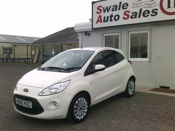 2010 FORD KA ZETEC 1.2L, ONLY 45571 MILES, FULL SERVICE HISTORY, £30 A YEAR TAX
