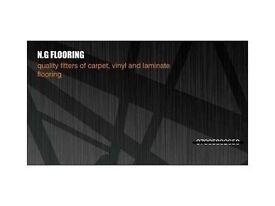 EXPERIENCED FLOORLAYERS/ CARPET, VINYL, LAMINATE FITTER. GOOD RATES/ FAST SERVICE