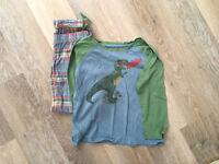 Cath Kidson Dinosaur pyjamas boys age 7-8