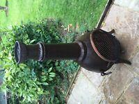 Cast iron burner beautiful heater