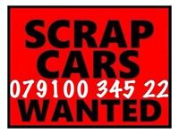 07910034522 SELL MY CAR 4X4 FOR CASH BUY YOUR SCRAP NON RUNNER C