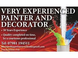 Very Experienced Painter and Decorator