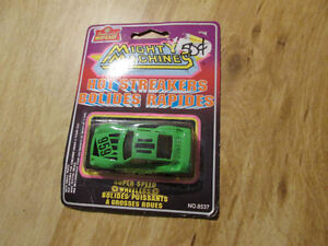 MIGHTY MACHINES Hot Streakers Imperial Die Cast Toy Car Vintage