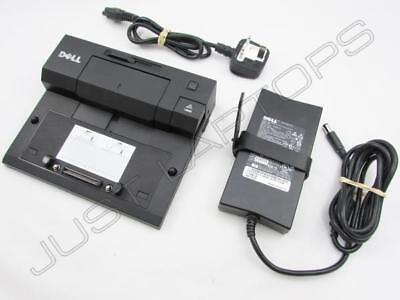 Dell Latitude E7440 E5520 E5420 Docking Station Port Replicator USB 3.0 Inc PSU