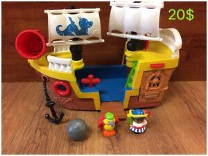 Grand choix de jouets Little people