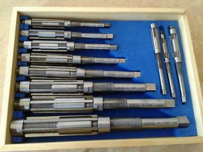 11pcsset Adjustable Hand Reamers A-k H4-h14 1532 To 1-12 Hss 6 Blades 515