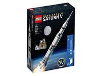 Lego Saturn V set