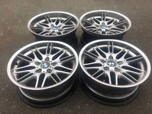 Set of OEM Genuine BMW M5 18 INCH Rims in good used condition