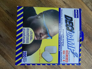 200 Pair of North Foam Disposable Earplugs Individually wraped