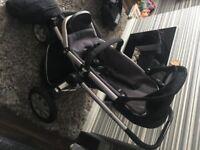 Quinny buzz 3, black, pram/stroller