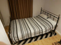 Lovely Double Matress and Bed Frame**