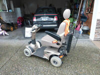 Pride Mobility Legend 4 wheel scooter