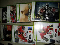 10 xbox 360 gms. all for $49