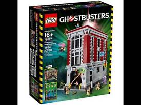 Lego Ghostbusters Firehouse Headquarters Brand New