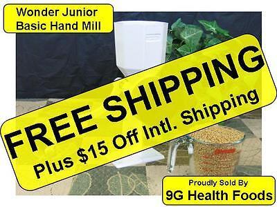 Wonder Junior Hand Grain Mill BASIC - New - WonderMill Jr. - Grind grain bread
