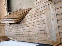 Wood for deck