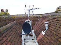 TV Aerial and Satellite engineer, installation & repair of Freeview SKY Virgin & Freesat services