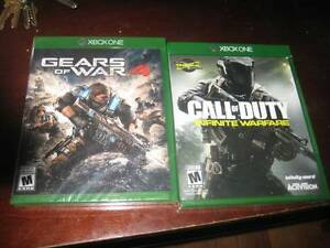 2 brand new unopened xbox one games