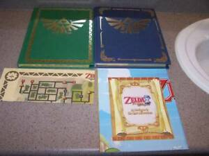 2 -Legend of Zelda Hardcover Collector's Edition Books