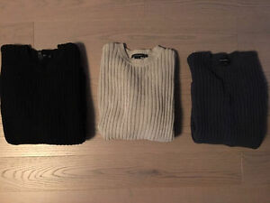 Club Monaco Sweaters, SIZE Small (All 3 for $80)