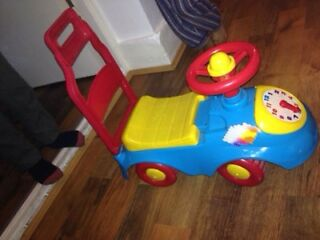 Set of baby ride on and bike for sale