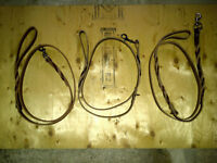 Leather Dog Leashes Hand Made