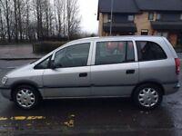Vauxhall zafira 1.6 club 16v 7 seater 2003
